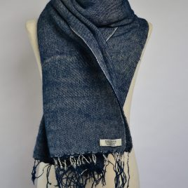 Denim Blue Yak Wool