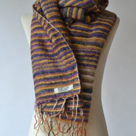 Stripy Purple & Yellow